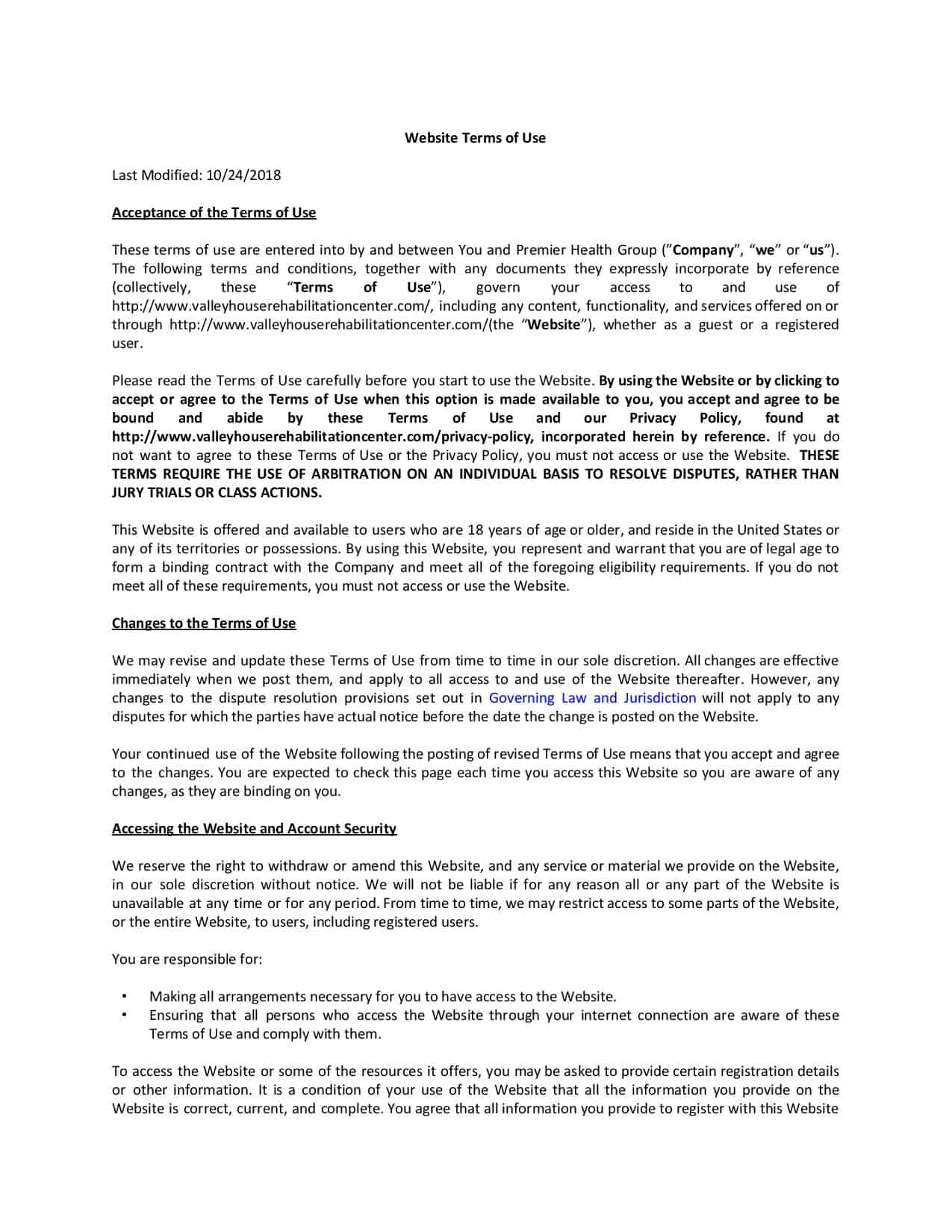 valleyhouserehabilitationcenter Terms of Use-page-001