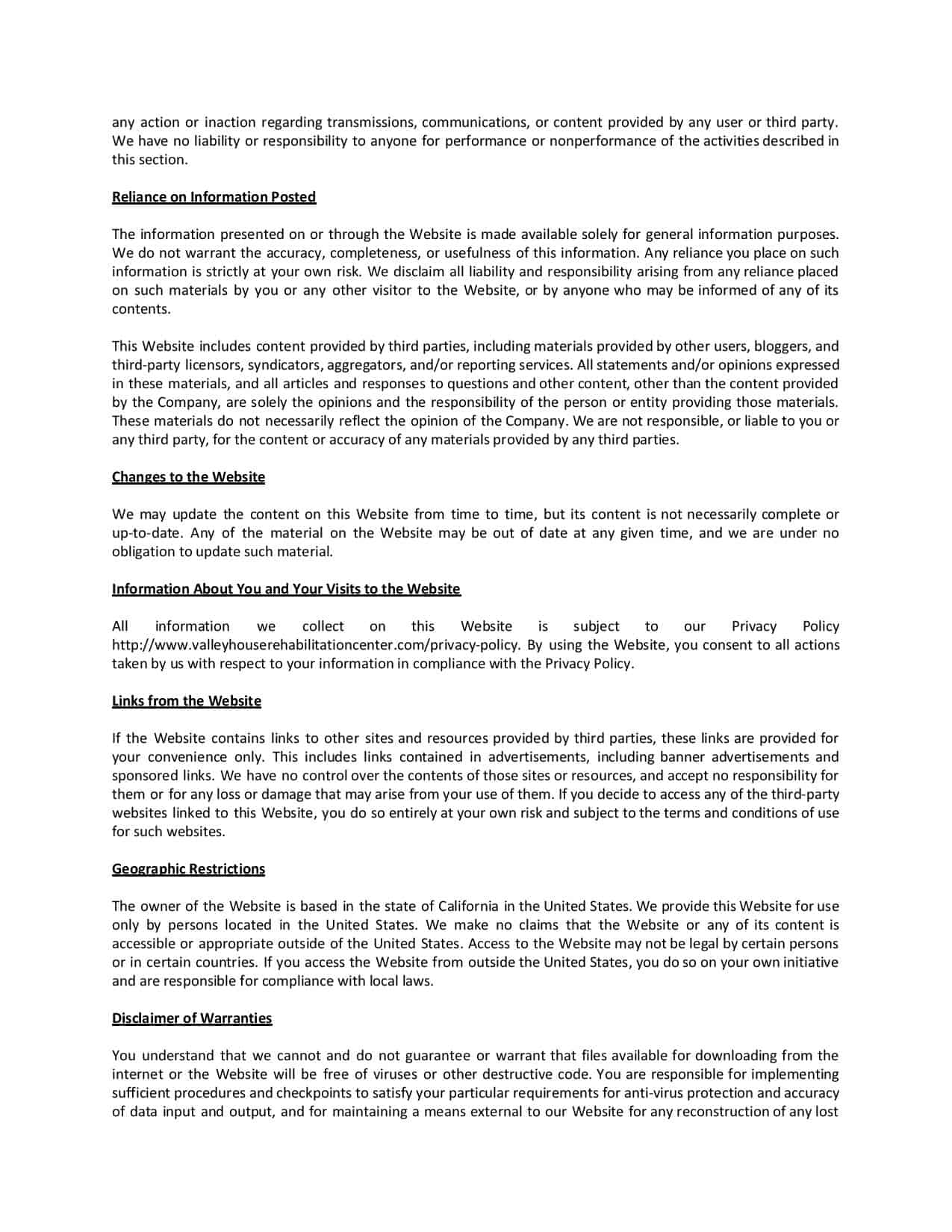 valleyhouserehabilitationcenter Terms of Use-page-004